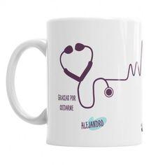 Taza Para el Mejor Enfermero I - regala a tu enfermero la mejor taza personalizada - ideal para el día de la sanidad o día del enfermero