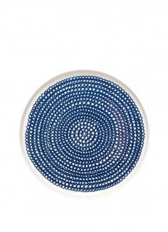 Siirtolapuutarha lautanen 20cm sininen