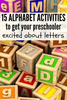 If you're looking for fun and engaging ways to teach your preschooler about the alphabet, this collection of 10 alphabet activities is just what you need!