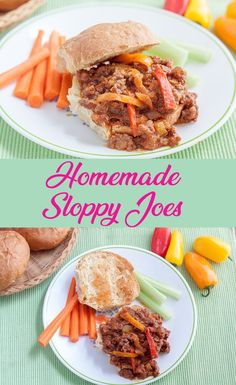 #Homemade Sloppy Joes are so easy and delicious, you'll wonder why you ever used a can!! #sloppyjoes #sloppyjoerecipe #binkysculinaryc #ifbcx via @binkysculinaryc