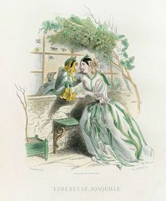 Art's painting collection of Ludmila: ANTIQUE PRINTS - Jean Ignace Isidore Gerard Grandville (French artist, 1803 – 1847)