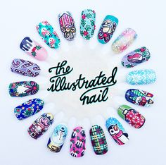xx MERRY CHRISTMAS 2013 LOVE FROM THE ILLUSTRATED NAIL xx - The Illustrated Nail