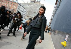 The Best Street Style at Fall 2016 New York Fashion Week - Vogue