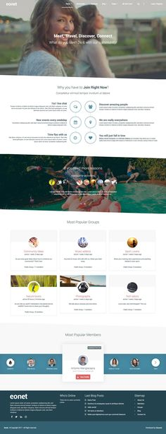 Eonet - Responsive Communities & Networks WordPress Theme #connections #drag and drop #members map • Download ➝ https://themeforest.net/item/eonet-multipurpose-community-network-wordpress-theme/19557463?ref=rabosch