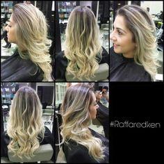 Cabelo dos sonhos #raffaredken #redken #tratamento #hair #hairstyle #blond #blondhair #loirodossonhos #ondaspoderosas