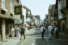 Canterbury, Kent 1985 by beareye2010, via Flickr Canterbury Kent, Canterbury Cathedral, 80s Costume, England, Street View, History, Travel, Historia, Viajes