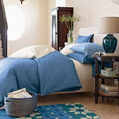 Company Cotton® Solid Duvet Cover | The Company Store