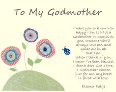 Godmother Poems From Godchild 3