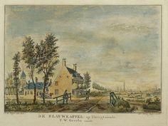 Online veilinghuis Catawiki: Utrecht  W. Writs. - De Blauwkappel op Utreegt siende - 1766