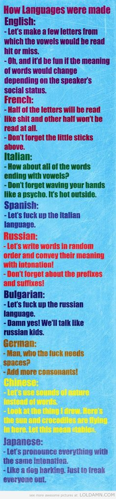 Some of these are funny.   Sorry for the language.....(no pun intended.)