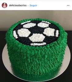 Kiwi Cake, Soccer Cake, Marble Cake Recipes, Beautiful Birthday Cakes, Cake Decorating Videos, Cakes For Boys, Cake Tutorial, Themed Cakes, No Bake Cake