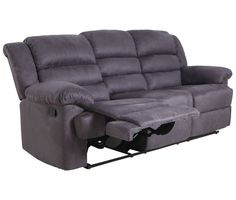Sofá relax 3 plazas microfibra BERRY - Conforama Sofas Relax, Plaza, Recliner, Lounge, Chair, Berry, Furniture, Home Decor, Dining Room Furniture