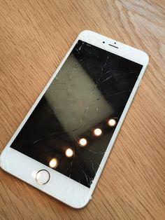 Was mit einem gebrochenen iPhone 6S / 6S-Plus-Bildschirm zu tun