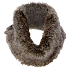 Ladies Faux Fur Neckwarmer ($9.26) ❤ liked on Polyvore featuring accessories, scarves, fur, women's clothing, salewomenswomens sale, fake fur shawl, faux fur scarves and faux fur shawl
