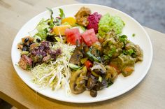 One of Helsinki's best #vegetarian / #vegan buffets - Restaurant Silvoplee. #healthy #healthyfood #veganfood