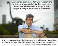 Jerry Coyne on Science and Religion