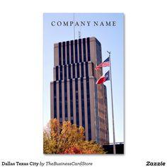 Dallas texas standard business card american business cards from dallas texas city standard business card colourmoves