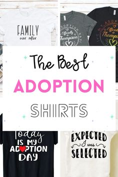 Adoption day is such a blessing and finding matching shirts for court is exciting! I am so happy for you and your family on this honorable day as you transition from foster care, foster to adopt, adopting a baby, court day, zoom, and it all. Find more tees for families at getyourholidayon.com. #adopt #adoption #shirts Foster To Adopt, Foster Mom, Foster Care, Family Shirts, Mom Shirts, Adoption Day, Gotcha Day, Fashion Design Sketches, Matching Shirts