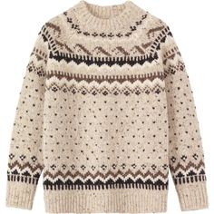 Toast Icelandic Fair Isle Sweater (3.230 RUB) ❤ liked on Polyvore