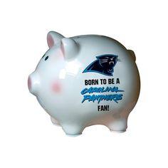 $19.99-$19.99 Baby Carolina Panthers Born to be Piggy - NFL Carolina Panthers Born to be Piggy http://www.amazon.com/dp/B001A0C7A0/?tag=pin2baby-20