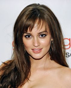 hair-spiration! idc what everyone says, i think leighton meester's short bangs are adorbs
