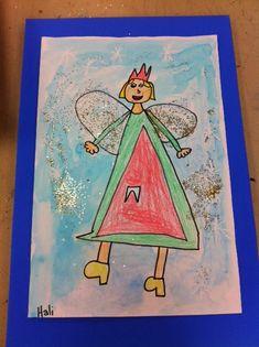 Splish Splash Splatter: 1st Grade Tooth Fairy Paintings