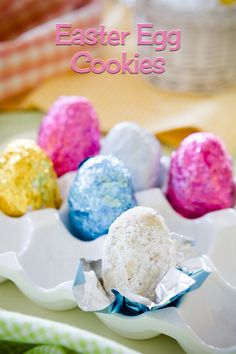 Easter Egg Cookies (from Cupcake Project)