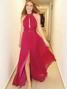 fe2054132f Sleeveless Natural Prom Dress