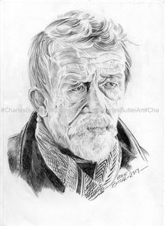 John Hurt A4 Ballpoint pen