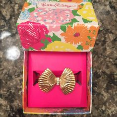 Lilly Pulitzer Hot Pink Photodome Bangle Super cute and goes with lots of Lilly! $12 on PayPal or $14 on Posh Lilly Pulitzer Jewelry Bracelets
