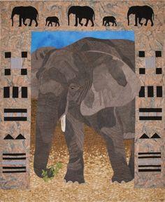 Quilt Pattern - Elephant xox
