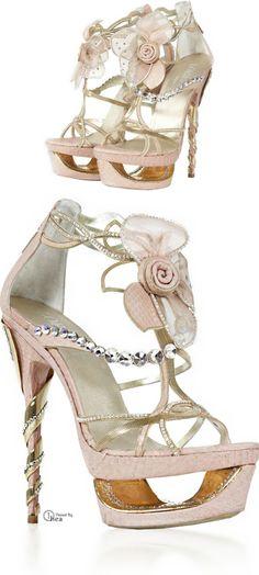 8088412303b0 Loriblu Jewel Shoes ○ Adorned with Swarovski crystals Fancy Shoes