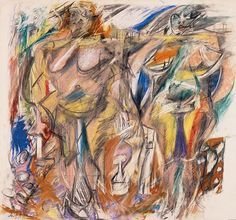 Two Women with Still Life by Willem de Kooning