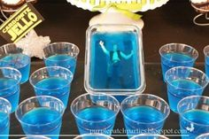 Or kids can just eat their way to him in this Jell-O mold version. | 23 Ways To Throw Your Kid The Best Star Wars Birthday Party Ever
