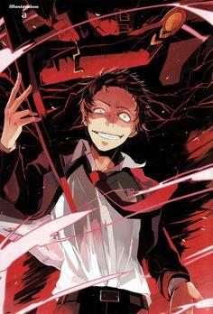 Illustration bya for the Tohru Adachi Comic Anthology