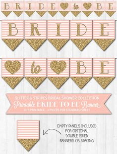 Hey, I found this really awesome Etsy listing at https://www.etsy.com/listing/190763620/bridal-shower-banner-blush-pink-gold