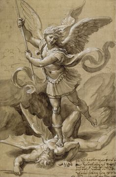 angel painting saint michael - Google Search