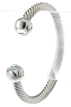 WHOLESALE JEWELRY TOWN : CRYSTAL HEAD CABLE CUFF