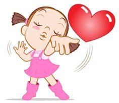 Spacial capture from animate sticker Jumbooka . Good Night I Love You, Love You Gif, Cute Love Gif, Cartoon Jokes, Cartoon Pics, Emoji Stickers, Cute Stickers, Funny Emoji Faces, Emoji Pictures