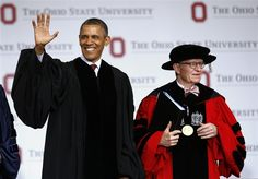 Obama calls for 'citizenship' in Ohio State commencement speech focused on civic duty. (via @NBC News)