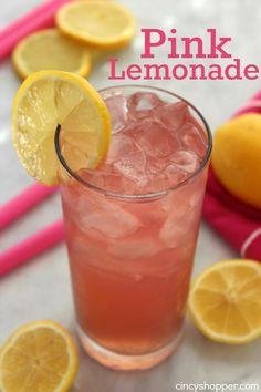 This Pink Lemonade Recipe is the perfect drink to serve at your summer BBQs or parties. Lemonade always makes for an extremely refreshing summer time bevera