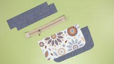DIY BELT POUCH BAG [sewingtimes] Diy Belt Pouches, Diy Coin Purse, Coin Purse Pattern, Pouch Bag, Bag Patterns To Sew, Quilt Patterns, Sewing Patterns, Celtic Heart Knot, Diy Belts