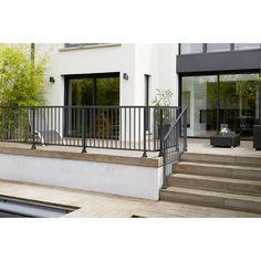 Obedient aluminum balustrade - Exterior Garden