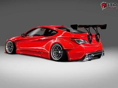 1,000-HP Hyundai Genesis Coupe is a Bloody Marvel