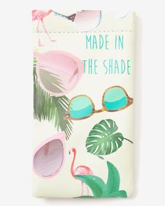 This Soft Glasses Case is perfect to protect your sunglasses or eyeglasses. It's stylish yet practical. Slip it in your handbag to extend the life of your glasses.