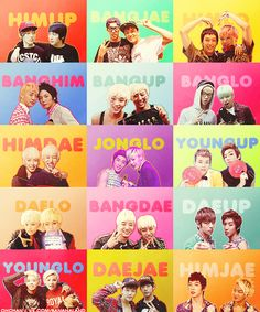 B.A.P Don't ship any of it, but I thought it was cool how it was set up.