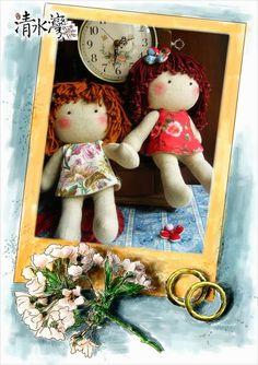 Mini Doll Tutorial http://mimindolls.blogspot.com.br/2014/02/linda-boneca.html