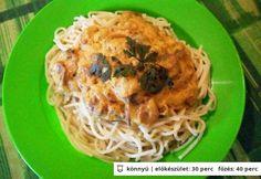Olasz gombaragu Pasta Noodles, Pasta Recipes, Spaghetti, Veggies, Ethnic Recipes, Food, Hungarian Cuisine, Macaroni, Vegetable Recipes