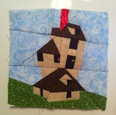 The Burrow! Amazing Harry Potter Quilt!