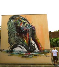 Sensual Psychedelic Graffiti - The New Street Art From 'Hopare' is a Lesson in Contemporary Graffiti (GALLERY)